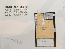 1H, 38m², Asemakatu, Vaasa, Vuokrattavat asunnot, Asunnot, Vaasa, Tori.fi