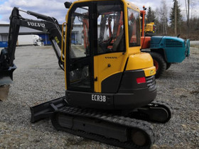 Volvo ECR 38, Maanrakennuskoneet, Työkoneet ja kalusto, Leppävirta, Tori.fi