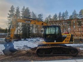 JCB JS145HD Metsämalli, Maanrakennuskoneet, Työkoneet ja kalusto, Kankaanpää, Tori.fi