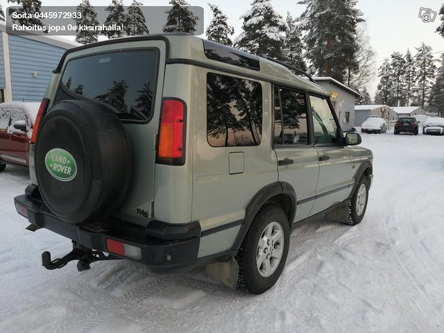Land Rover Discovery II 3
