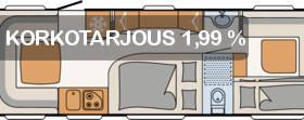 Dethleffs Camper 740 RFK, Asuntovaunut, Matkailuautot ja asuntovaunut, Kokkola, Tori.fi