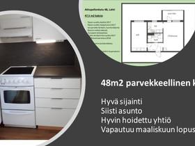 2H, 48m², Aittapellonkatu, Lahti, Vuokrattavat asunnot, Asunnot, Lahti, Tori.fi