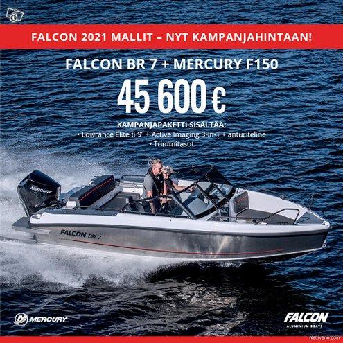 Falcon BR7 + MERCURY F150 Kampanja