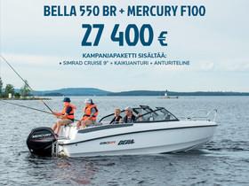Bella 550BR + MERCURY F100 KAMPANJA, Moottoriveneet, Veneet, Mikkeli, Tori.fi