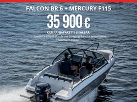 Falcon BR6 + MERCURY F115 Kampanja, Moottoriveneet, Veneet, Mikkeli, Tori.fi