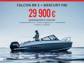 Falcon BR5 + MERCURY F80 SAATAVILLA, Moottoriveneet, Veneet, Mikkeli, Tori.fi