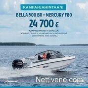 Bella 500 BR + F80 KAMPANJA, Moottoriveneet, Veneet, Kemiönsaari, Tori.fi