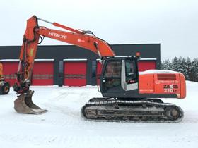 Hitachi ZX 210 LC-3 / Pyörittäjä, 2 kauhaa, Rasvar, Maanrakennuskoneet, Työkoneet ja kalusto, Seinäjoki, Tori.fi