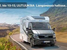 Knaus VAN TI Plus 650 MEG 4x4 Platinum, Matkailuautot, Matkailuautot ja asuntovaunut, Keminmaa, Tori.fi