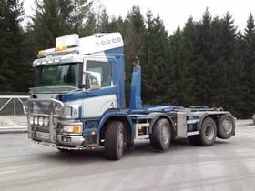 Scania P 124 GB 8x2, Muut koneet ja tarvikkeet, Työkoneet ja kalusto, Pori, Tori.fi