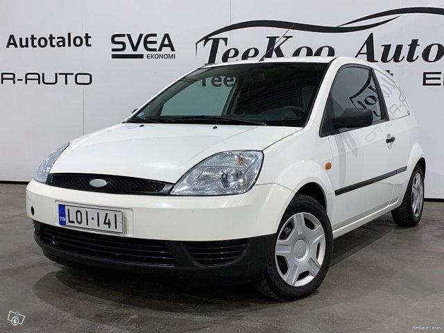 Ford Fiesta Van 1