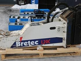 Bretec L20C Iskuvasara + S80 Liitin + Talttaterä, Maanrakennuskoneet, Työkoneet ja kalusto, Lempäälä, Tori.fi