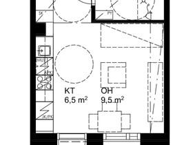 1H, 25m², Rautionkatu, Oulu, Vuokrattavat asunnot, Asunnot, Oulu, Tori.fi