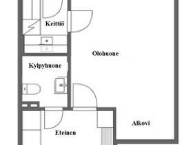 1H, 26m², Rautatienkatu , Lahti, Vuokrattavat asunnot, Asunnot, Lahti, Tori.fi