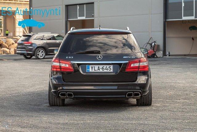 Mercedes-Benz E 63 AMG 4