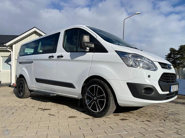 Ford Tourneo Custom 2.0Tdic AUT 9hengen 2018