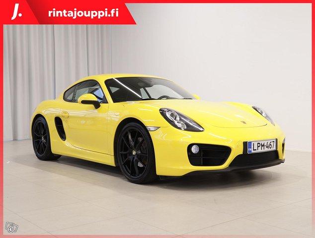 Porsche Cayman 1