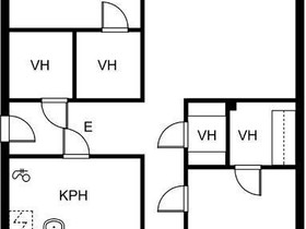 3H, 79m², Mäntynäädänkatu, Kokkola, Vuokrattavat asunnot, Asunnot, Kokkola, Tori.fi