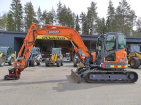 Doosan Dx80R, Maanrakennuskoneet, Työkoneet ja kalusto, Mikkeli, Tori.fi