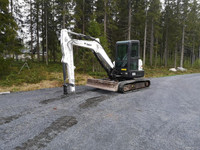 Bobcat E55 Kumitela Kaivinkone -11
