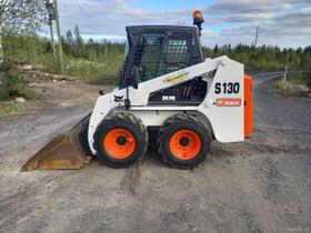 Bobcat S 130 VARATTU, Maanrakennuskoneet, Työkoneet ja kalusto, Oulu, Tori.fi