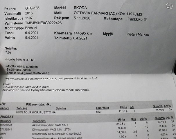 Skoda Octavia 18