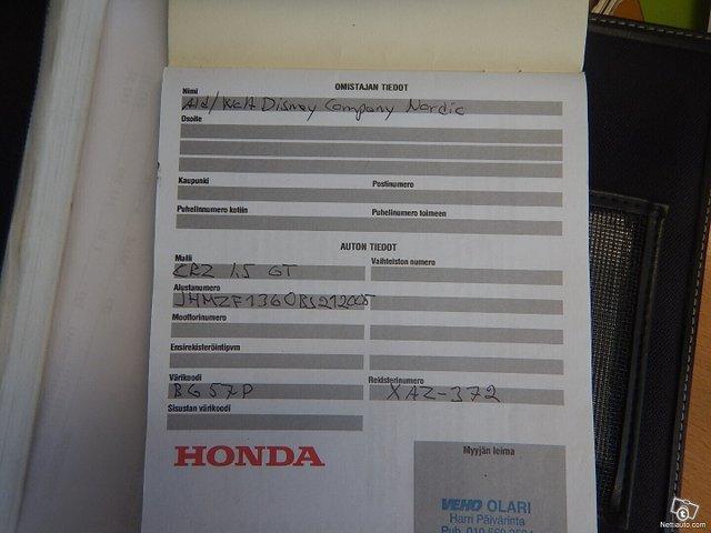 Honda CR-Z 11