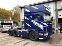 Scania R620 V8 Täysilma Siirtopöydällä Ja Hydrauli -08