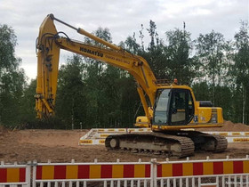 Komatsu PC 210, Maanrakennuskoneet, Työkoneet ja kalusto, Rovaniemi, Tori.fi