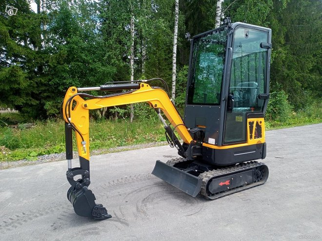 Crawler, LM10 Minikaivinkone Hytillä, 1000 K