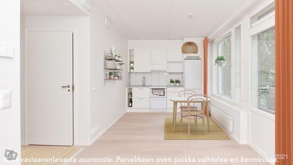 1h+kt, Kappelirinne 4 A, Niittykumpu, Espoo
