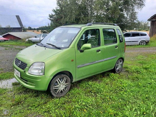 Opel Agila, kuva 1