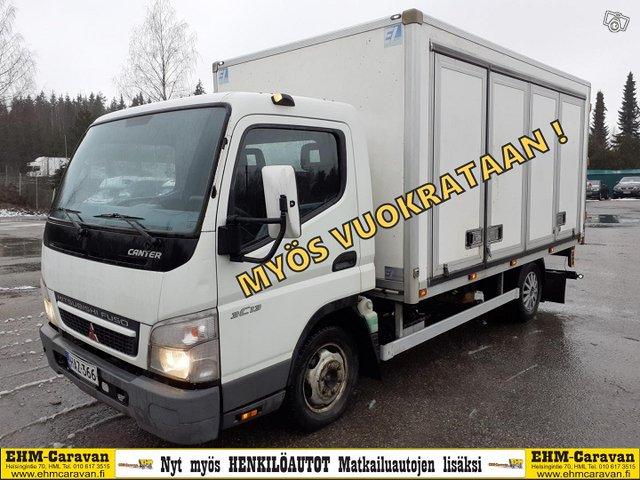 Mitsubishi Fuso Canter 1