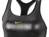 Swoosh Icon Clash Shimmer Sports Bra W - Nike