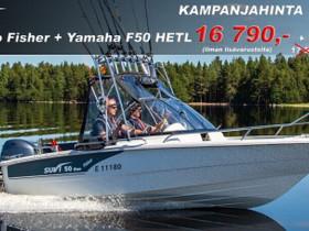 Suvi 50 Duo Fisher + Yamaha F50, Moottoriveneet, Veneet, Pirkkala, Tori.fi