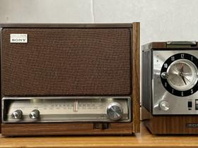 Sony ICF-9640W ja Sony 7FC-89W, Audio ja musiikkilaitteet, Viihde-elektroniikka, Pietarsaari, Tori.fi
