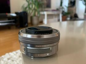 Sony E 3.5-5.6/PZ 16-50 OSS, Objektiivit, Kamerat ja valokuvaus, Helsinki, Tori.fi