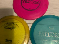 Frisbeegolf kiekkoja