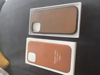 IPhone 12pro nahkakotelo