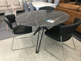 Marmori kuvioitu ruokapöytä, Pöydät ja tuolit, Sisustus ja huonekalut, Jyväskylä, Tori.fi