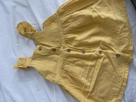 H&M keltainen mekko 80cm, Lastenvaatteet ja kengät, Hämeenlinna, Tori.fi