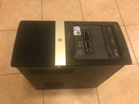 HP- tietokone+ näyttö, näppis ja hiiri