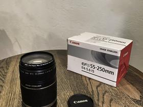 Canon EF-S 55-250mm, Objektiivit, Kamerat ja valokuvaus, Helsinki, Tori.fi