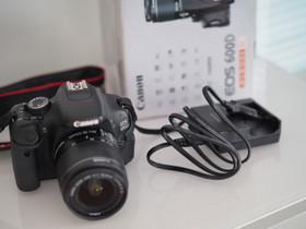 Canon 600D + objektiivi paketti, Kamerat, Kamerat ja valokuvaus, Lahti, Tori.fi