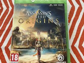 Assasin's Creed ORIGINS XboxOne, Pelikonsolit ja pelaaminen, Viihde-elektroniikka, Raisio, Tori.fi