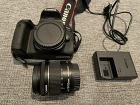 Canon EOS 77D + 18-55mm objektiivi, Kamerat, Kamerat ja valokuvaus, Joensuu, Tori.fi