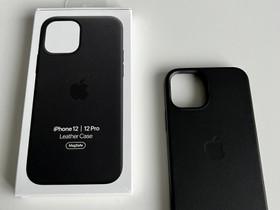 IPhone 12 Leather case, Puhelintarvikkeet, Puhelimet ja tarvikkeet, Kuopio, Tori.fi