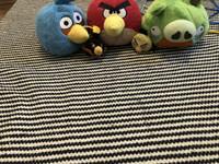 Angry birds pehmot