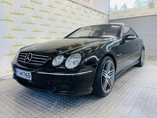 Mercedes-Benz CL, kuva 1