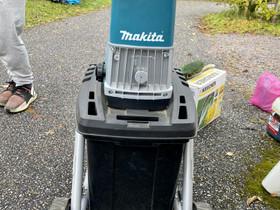 Makita Electric shredder Oksasilppuri, Muut koneet ja tarvikkeet, Työkoneet ja kalusto, Vantaa, Tori.fi